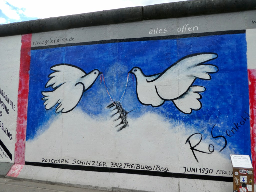 East Side Gallery mural