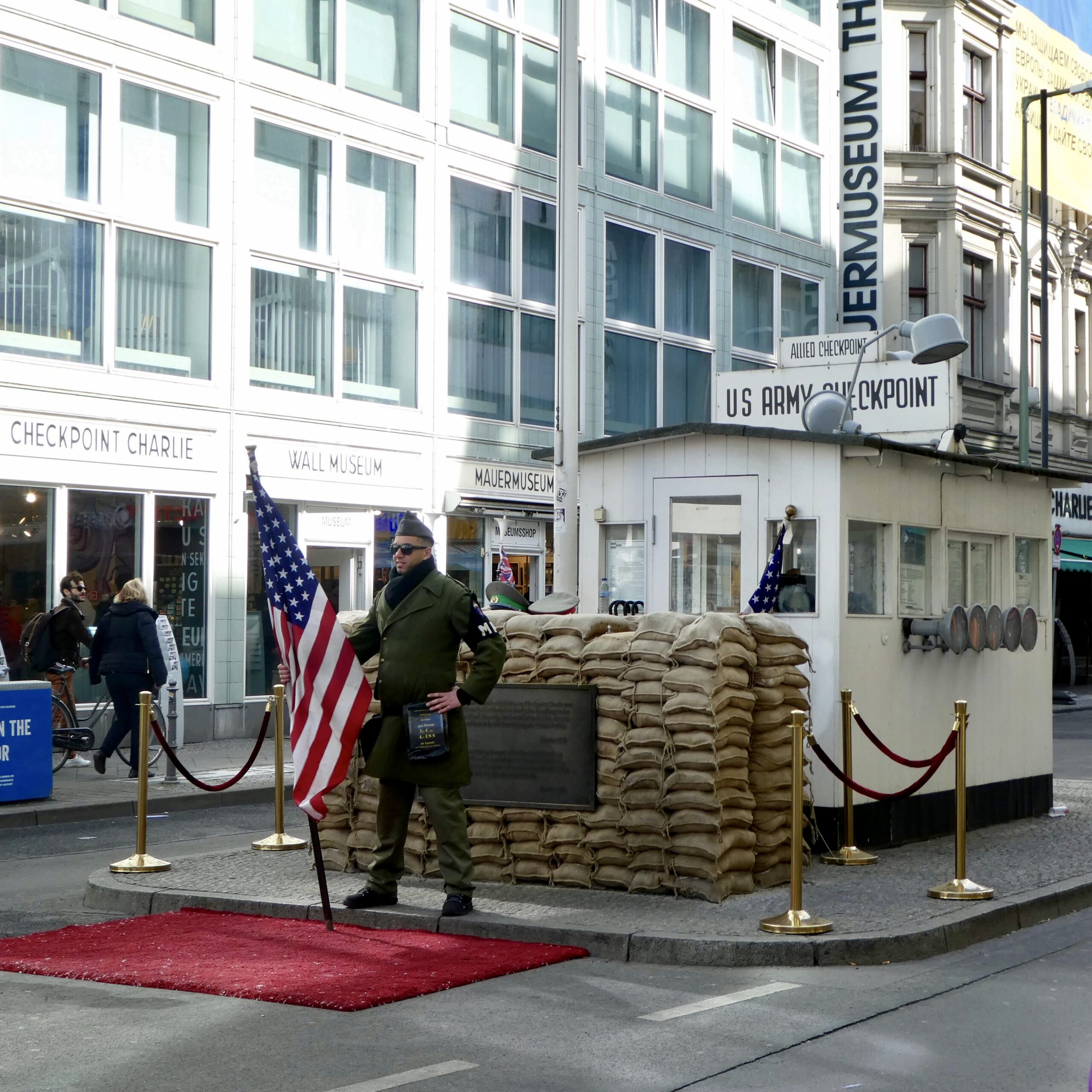Checkpoint Charlie Berlin