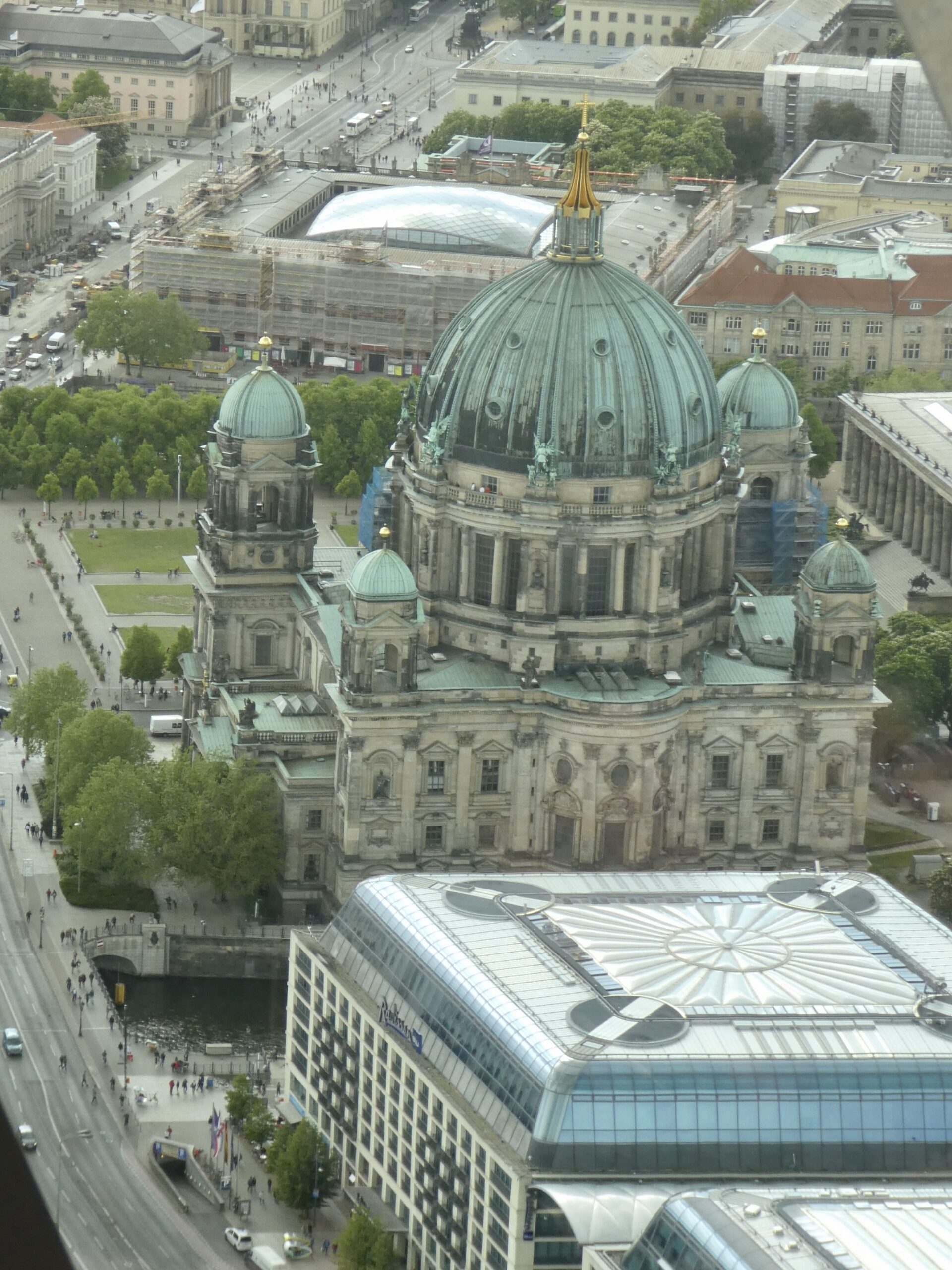 View from Berlin TV Tower