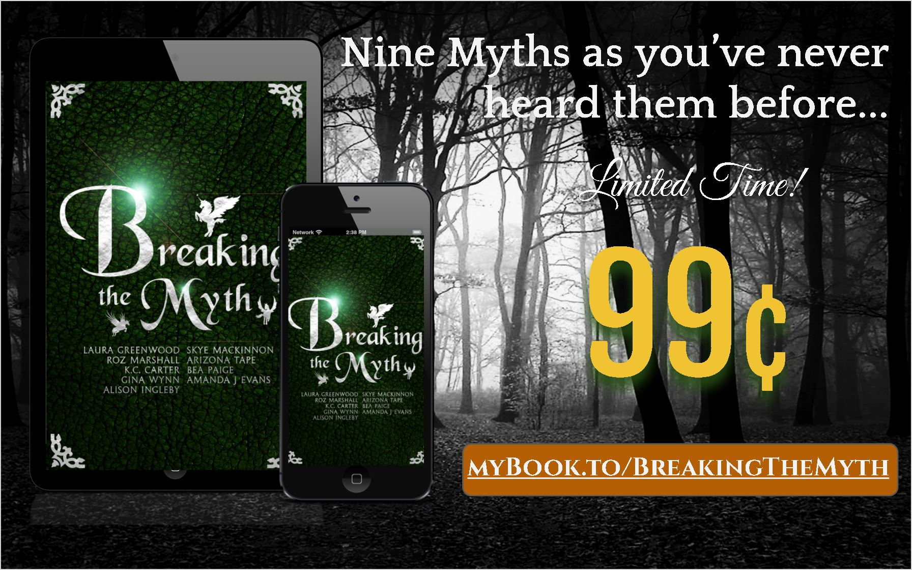 Breaking the Myth launch graphic