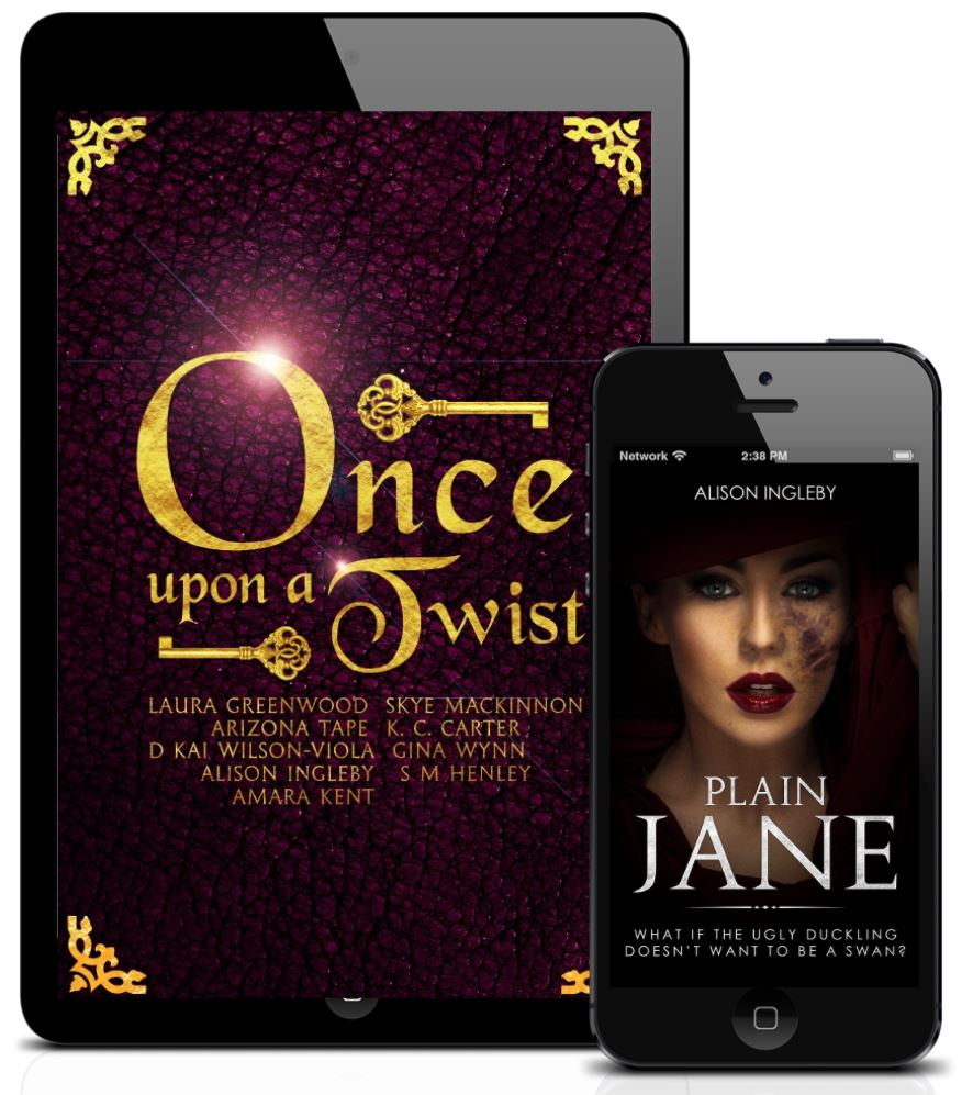 Plain Jane and Once Upon a Twist covers
