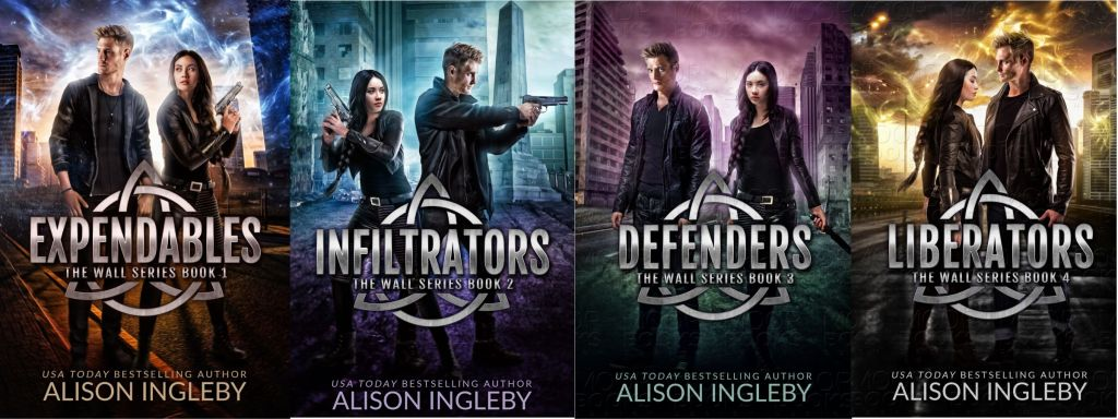 The Wall Series Book Covers
