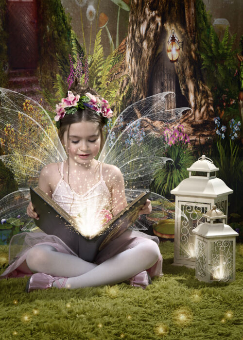 magical fairy shoot studio sitting in hull