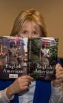 Alison Larkin reading The English American