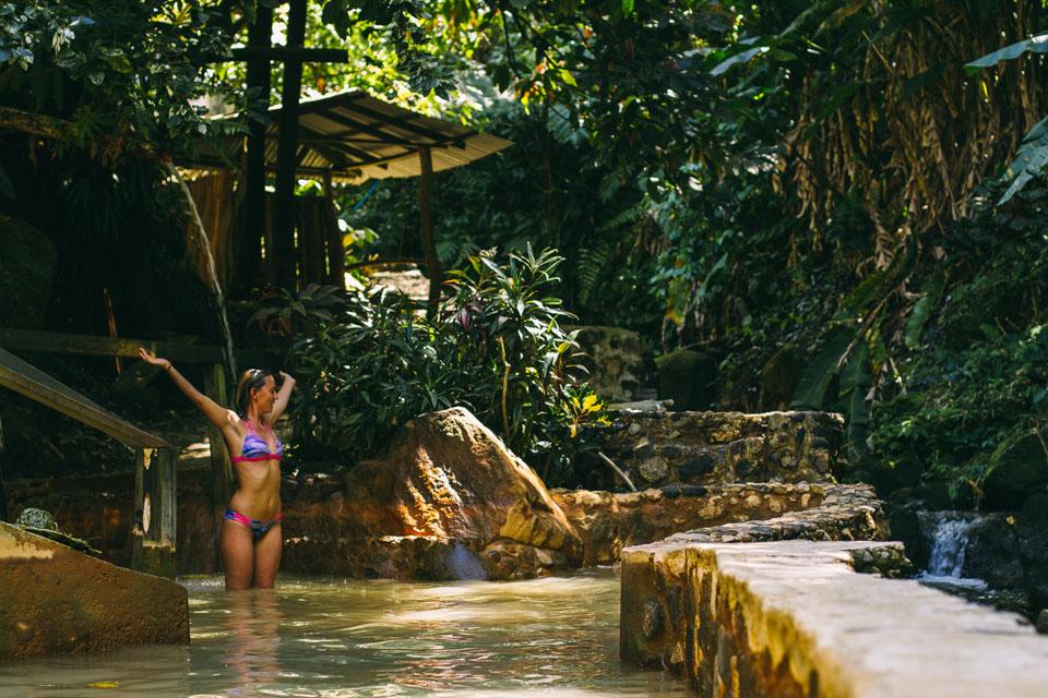 Tia's Hot Spring, Dominica