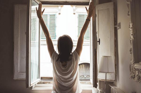 Wake up to a fresh start.