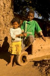 Malagasy children, Ifotaka village