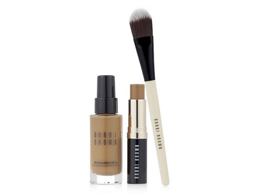 Bobbi Brown Skin Foundation Duo Beauty Tips