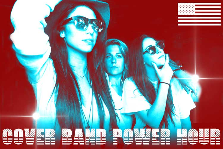 All-Girl Cover Band Show! FOR AMERICA.