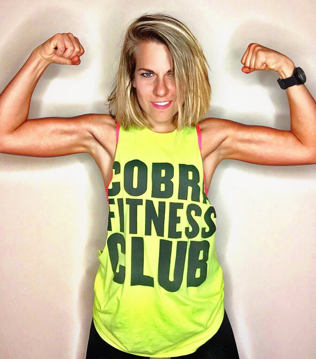 Shout out to @cobrafitnessclub. Go follow them if you wanna play Where's Waldo with me in no shirt.