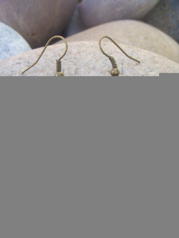small brass earrings