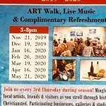 Art walk dates