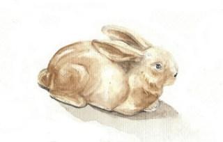 03Apr12 Easter bunny by alissa duke