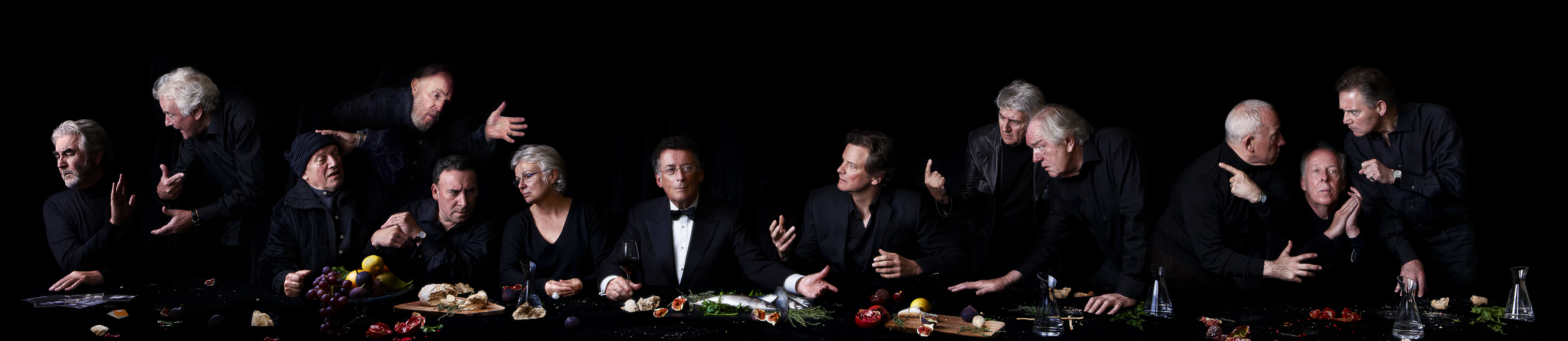 The Actors' Last Supper by Alistair Morrison