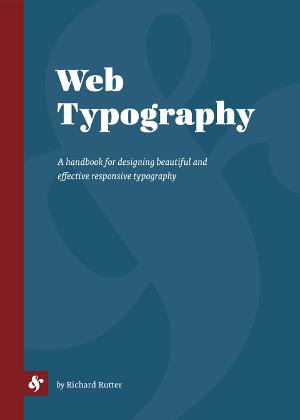 Copertina di Web Typography
