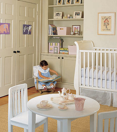 charming white nursery on Elle Decor Nursery id=44482