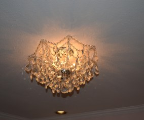 Crystal Chandelier For Baby S Nursery