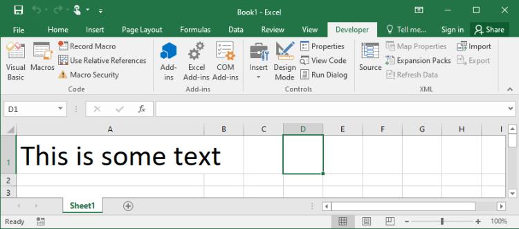 VBA Macro Text Size