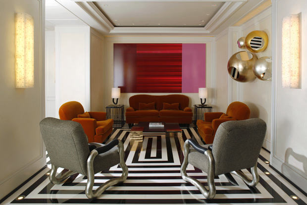 The Mark Hotel Lobby on the Upper East Side