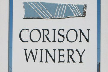 Corison Winery header