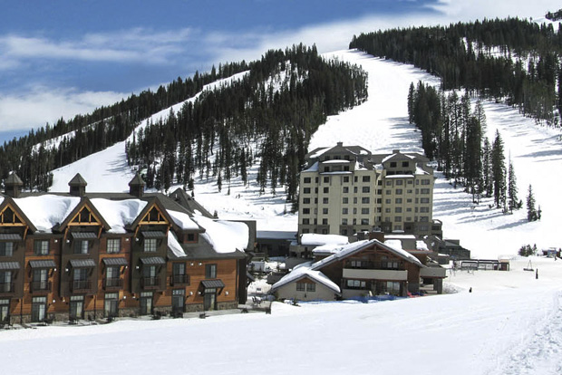 The ski-in ski-out Summit Hotel