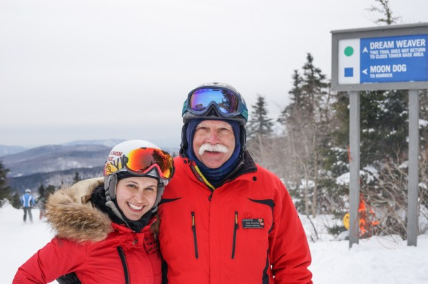 Okemo Mountain Ambassadors can be found all over the mountain to make sure everyone is skiing safe and having a great time.