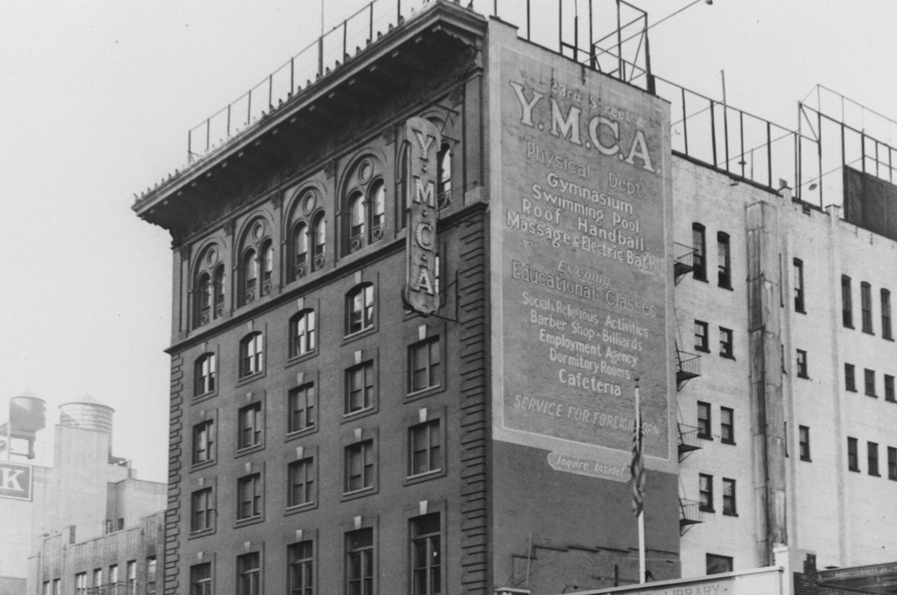 The YMCA where Charlie Merrill and Eddie Lynch first met