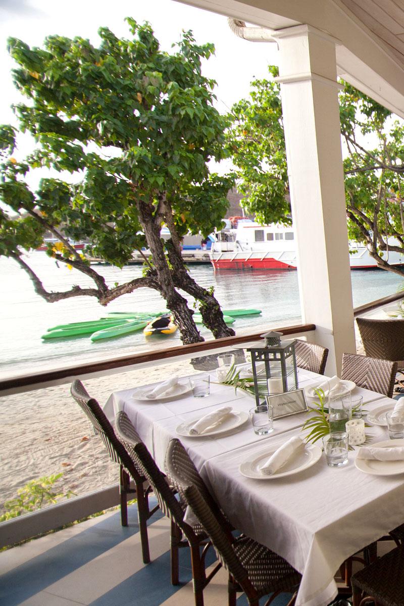 waterfront bistro st john fine dining