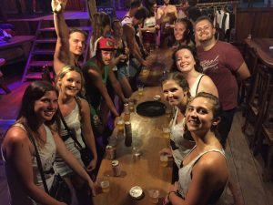 Pub crawl games