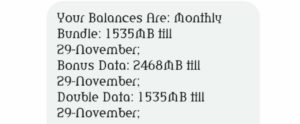 Airtel triple data