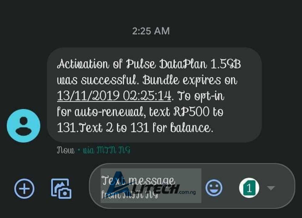 Mtn plus 750Mb and 1.5GB