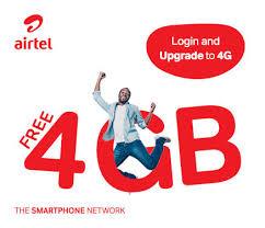 Airtel Free 4GB Data