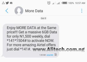 Airtel 13GB for 600