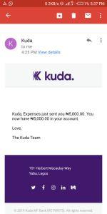 Kuda Payment