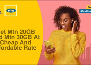 Get Mtn 20GB And Mtn 30GB