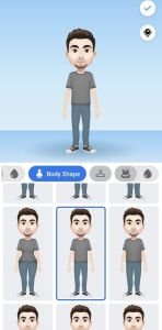 how to create a facebook avatar on laptop