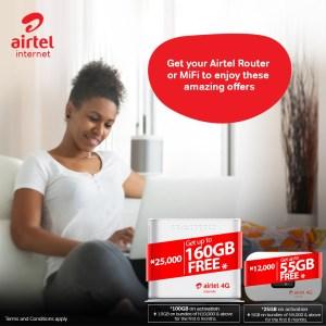 Airtel Router data bundle 2020