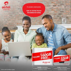Airtel mifi and Router