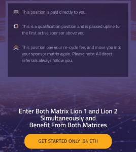 0.04 eth to join lionshare