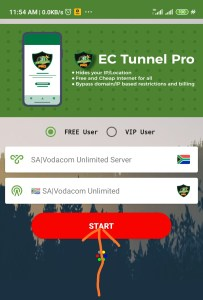 Vodacom Unlimited Browsing With Ec Tunnel VPN