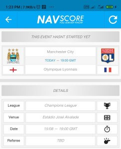 How to watch football online on NavScore