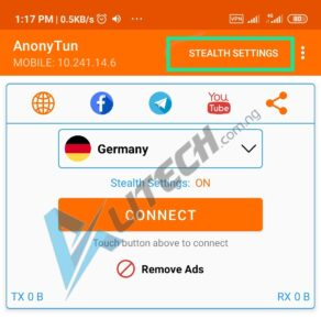 Airtel 1GB for 200 On Anonytun VPN 2020
