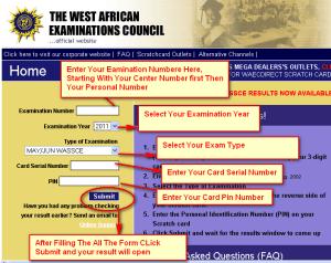 How to check waec result 2020