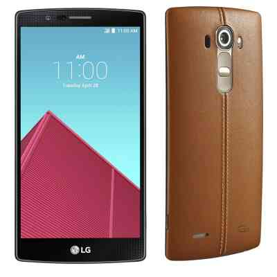 LG G4 Dual H818N (Genuine Leather Brown)