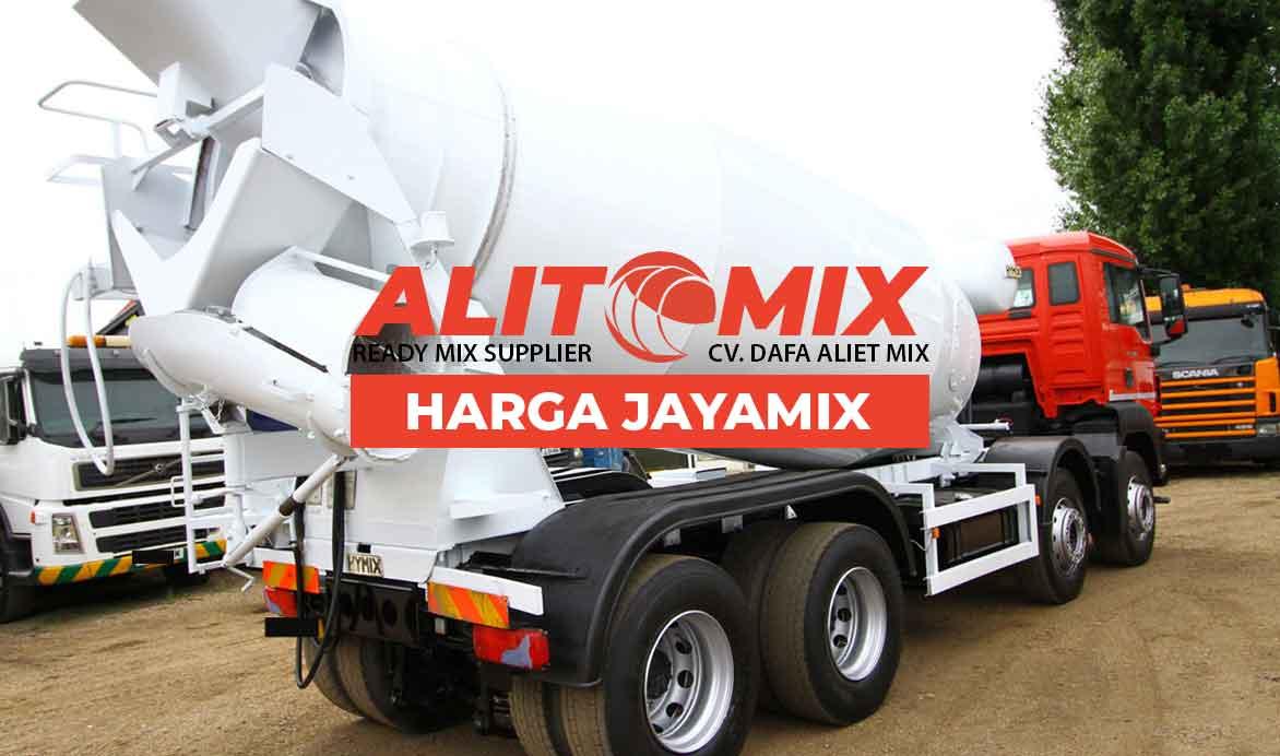 Harga Jayamix Beton Murah Per m3 2020 Harga Satu Mobil