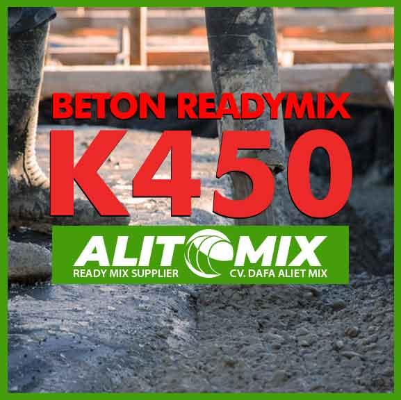 Harga Beton K450