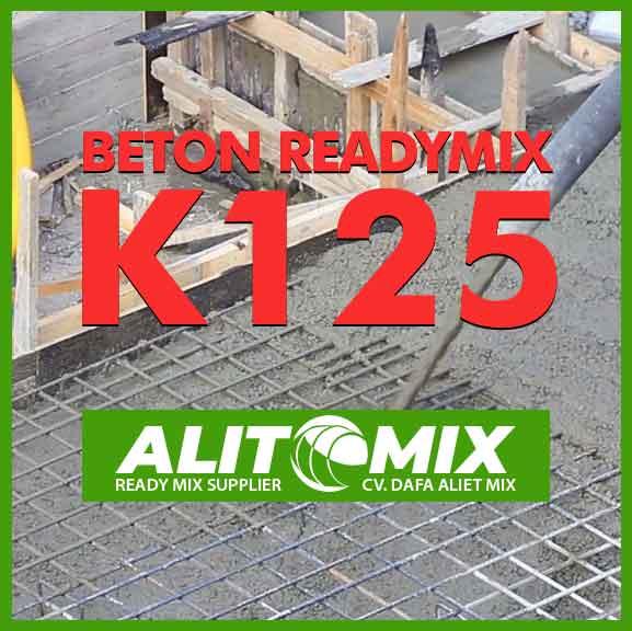 Readymix Beton Mutu K 125