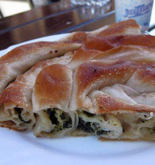 eating vegetarian in Bosnia