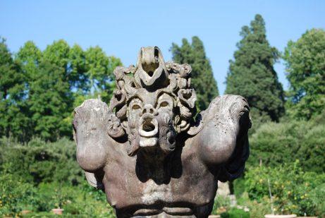 Fountain in the Boboli Garden in Florence