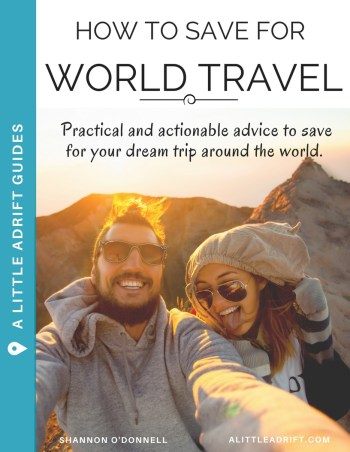 save for a round the world trip